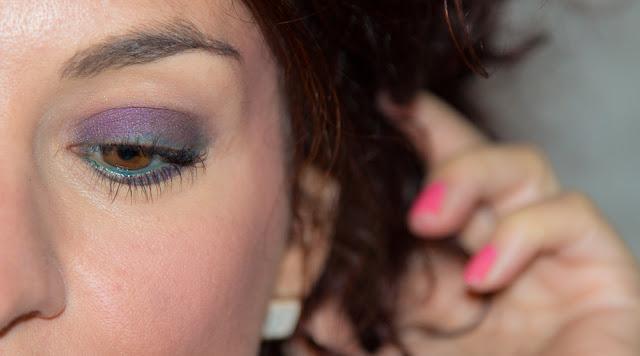 maquillage - prune - vert - naturel