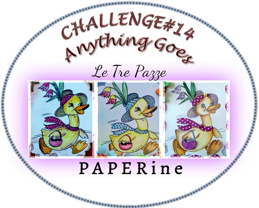 grab button for Le Tre Pazze PAPERine