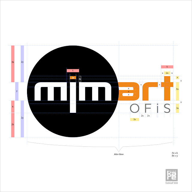 metrik optik logo tasarımı tipografi