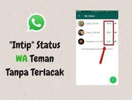 3+ Cara Melihat Status Whatsapp Tanpa Diketahui Pembuatnya