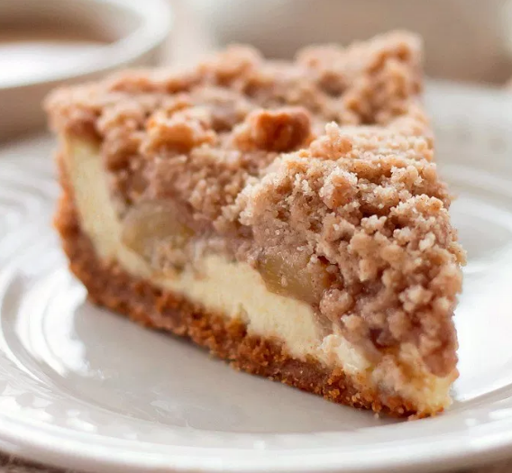 Snickerdoodle Cream Cheese Apple Pie #cake #pie