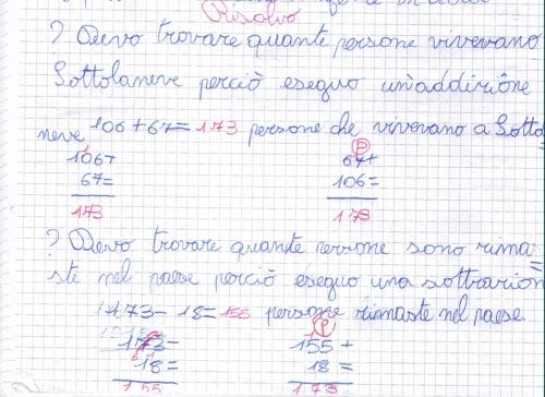 Didattica Matematica Scuola Primaria Problemi Con Due Domande E Due