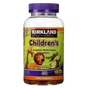 Kẹo Bổ Sung Vitamin Tổng Hợp Cho Bé Kirkland Signature Children's Complete Multivitamin 160 Viên Của Mỹ