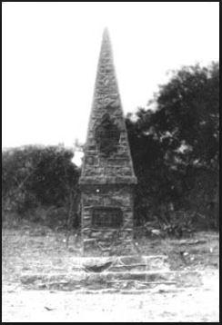 Obelisco de Dom Pedro II - meteorito de Bendegó