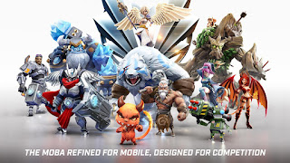 game Moba Android terbaik terpopuler - Call of Champions