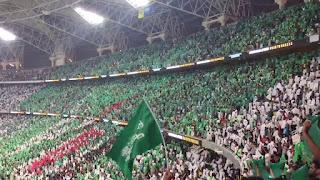 وفاة مشجع أهلاوي في مباراة الأهلي والشباب