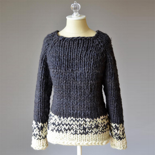 Transitions Sweater - Free Pattern