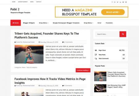 Top 9 Blogger Templates | Best Blogger Templates -2018 Responsive + ...
