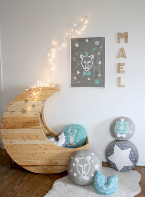 Pallets For Decorating Children's Rooms 3