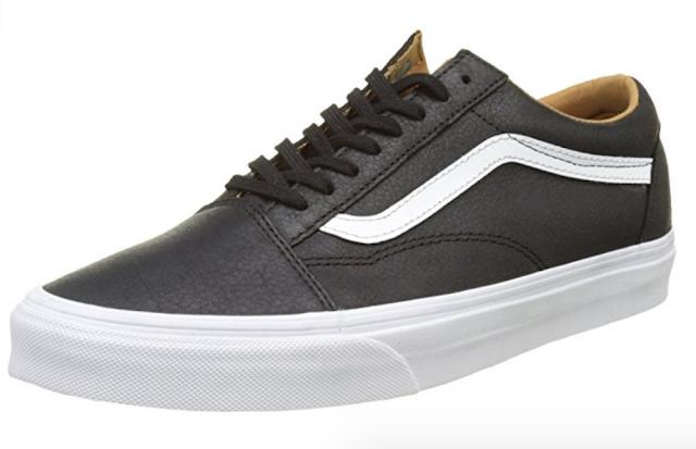 479dbc77b1d 5. Vans Unisex Old Skool (Premium Leather) Skate Shoe