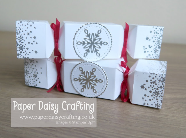 Snowfall thinlits - Stampin Up - Snow is Glistening