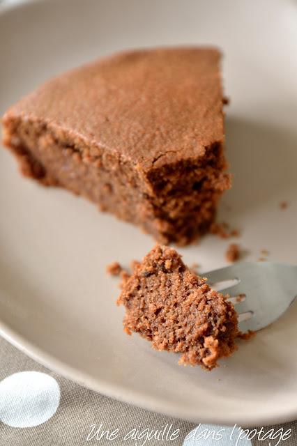 Gâteau chocolat-noisette à l'huile de coco