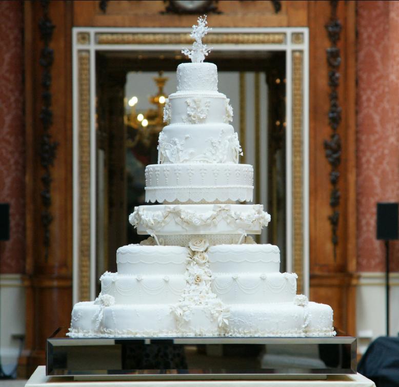 Kate Middleton's wedding cake