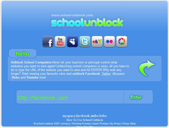 Unblock facebook at school free download