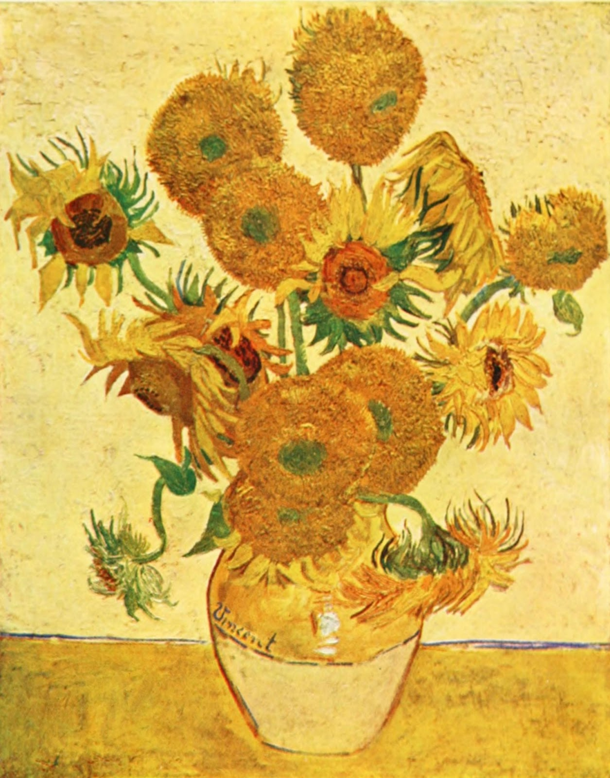 Vincent Van Gogh Paintings Sunflowers Thepapersunflower Vincent Van Gogh