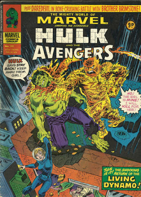 Mighty World of Marvel #203, the Hulk
