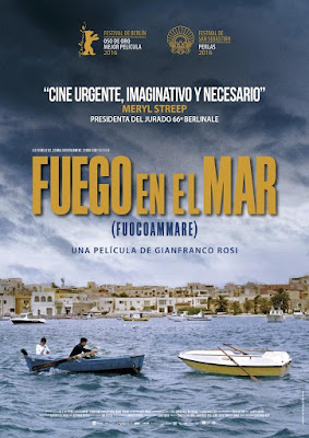 Fire At Sea 2016 DVD R2 PAL Spanish