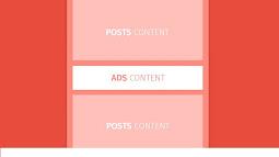 Chèn quảng cáo giữa bài viết tùy chỉnh vị trí cho blogspot