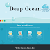 Deep Ocean Single Page Wp PSD Template