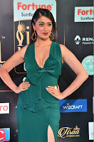 Laxmi Rai in a Deep neck Beautiful Green Gown Cute Actress Laxmi Rai ~  038.JPG