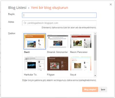 yeni blog