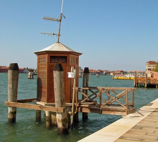 Hydrographic station, Punta della Dogana, Venice