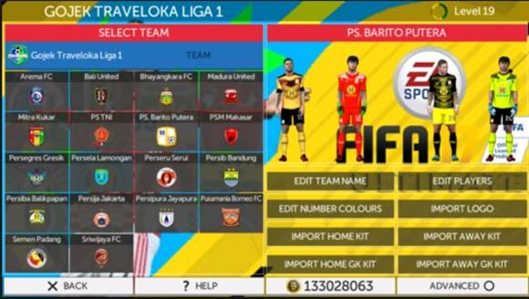 FTS Mod Gojek Traveloka League 2018 by GilaGame