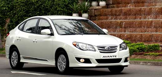 Hyundai Avante-1.6MT-AT-2.0AT