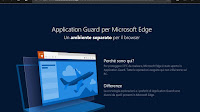 Attivare Application Guard in Windows 10, il browser blindato e protetto da rischi