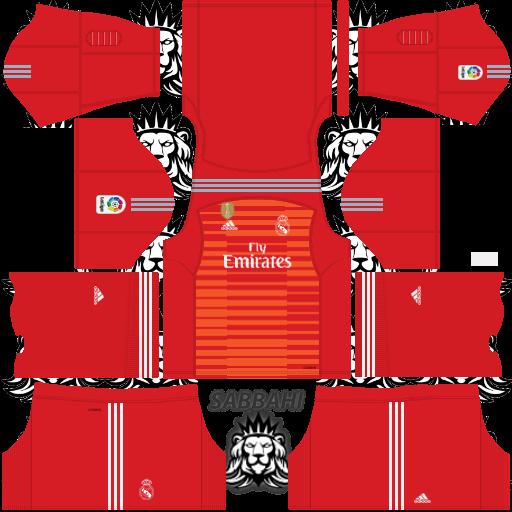 fca9b3338be Real Madrid Kits 2019 2020 Adidas - Dream league Soccer Kits - KITS FTS