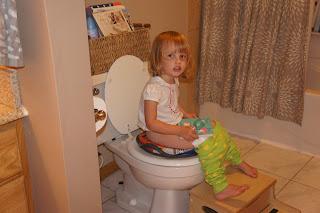 Little Leah: Big Girl Potty!