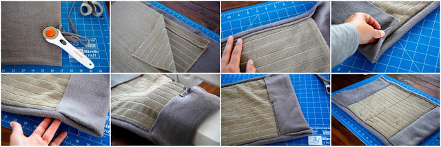 Step-by-step making a dog support sling
