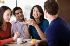 Cách giảm cân nhanh hiệu quả nhất là bắt đầu ngày làm việc bằng việc trò chuyện