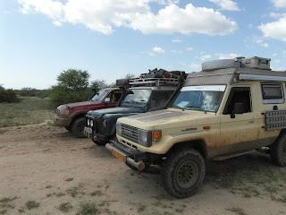 Crossing into Kenya