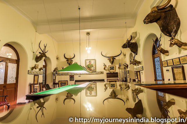 Animal Trophies at Shiva Vilas Palace Hotel