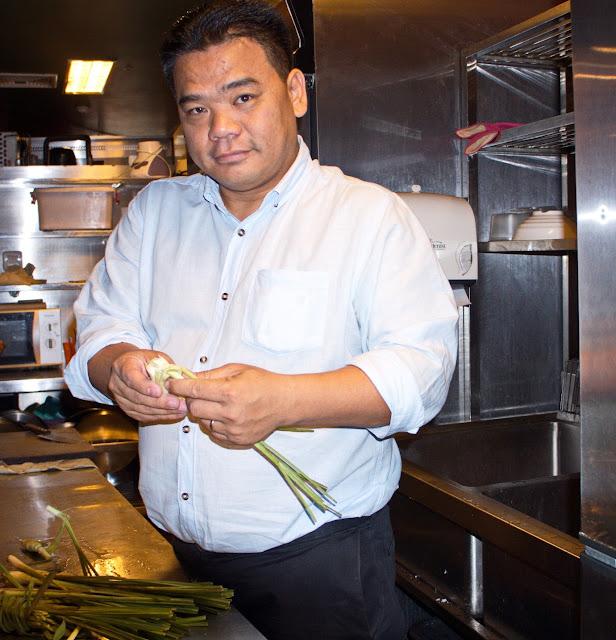 Chef Luu Meng : La citronnelle cambodgienne est unique
