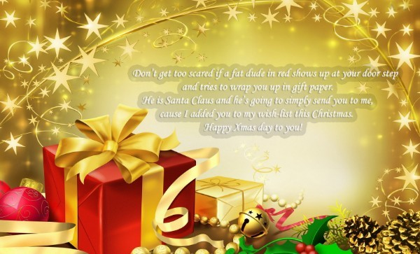 Merry Christmas  wishes for friends