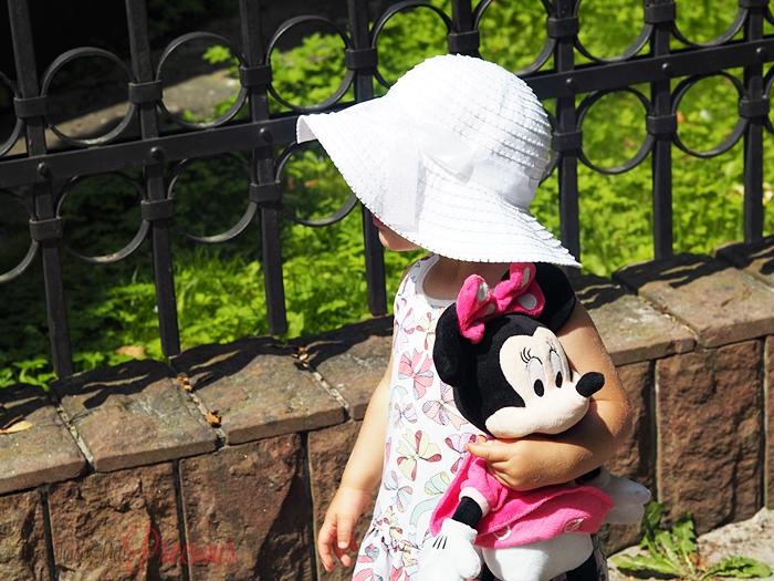 dziecko myszka minnie