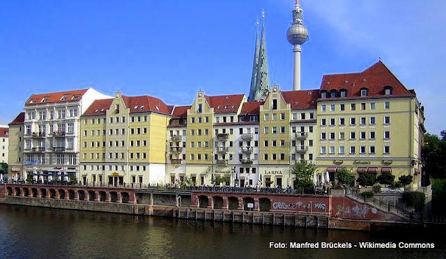 Nikolaiviertel, quarteirão medieval reconstruído no Centro de Berlim
