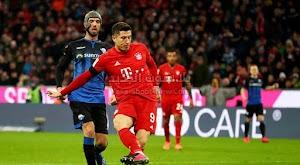 ليفاندوسكي يقود بايرن ميونخ لتعزيز صدارة الدوري الالماني بالفوز على فريق بادربورن