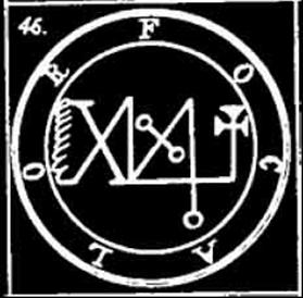 focalor, goetia, sigilo, daemon, ocultismo
