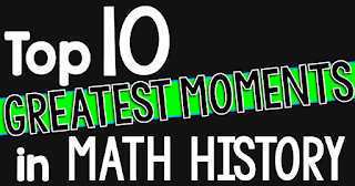 Want to bring a little math history into math class? These 10 top math moments get student imaginations churning about mathematicians and great math moments of the past. Bringing these stories into math class is sure to captivate students!
