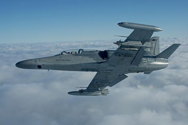 Avion AERO L-159 ALCA Fuerza AEREA CHECA