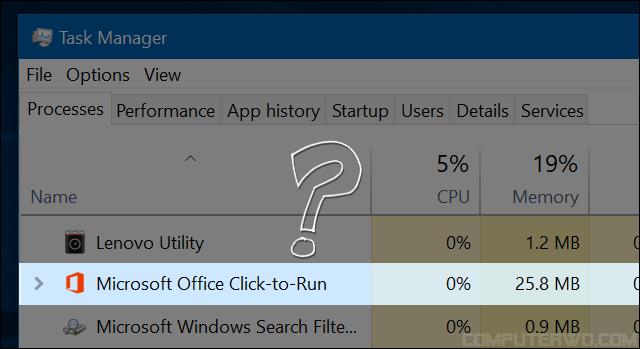 عملية مايكروسوفت اوفيس Click-to-Run ... ما هي وهل يجب تعطيلها؟