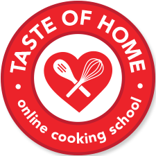 taste of home onlie cooking classes banner