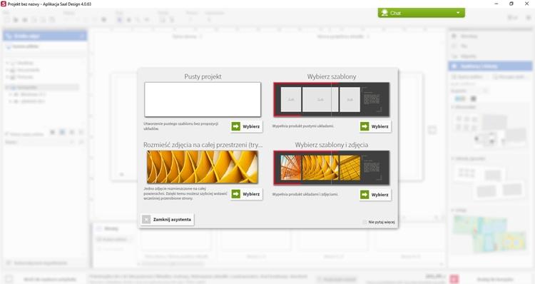 aplikacja saal design