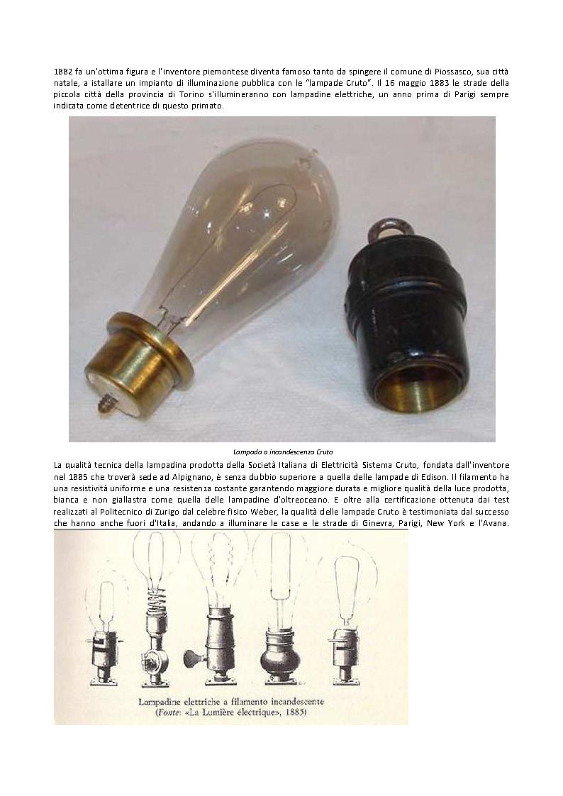 storia della lampadina : Collezione Radio Nelson: Illuminazione