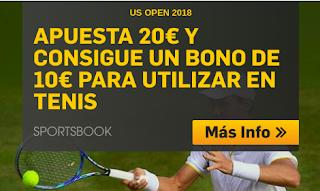 betfair promocion us open tenis 2018 hasta 7 septiembre