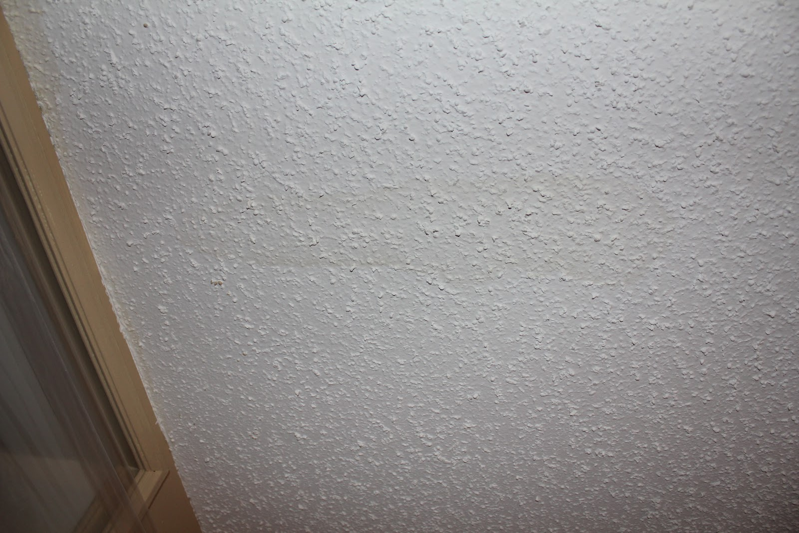 Popcorn Texture Removal Knockdown Application Step 2