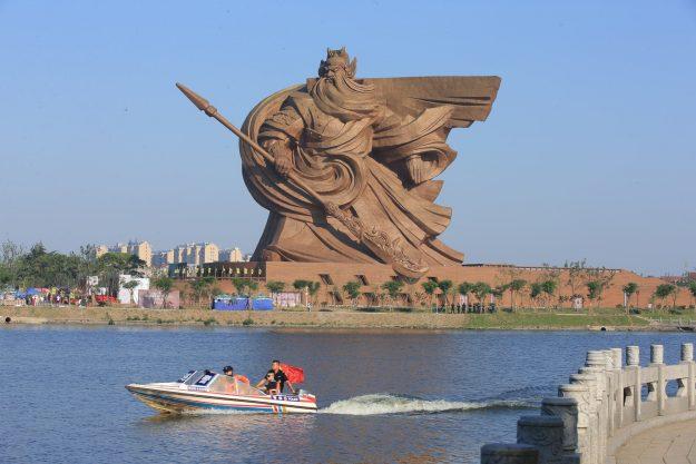 Syukur Patung Guan Yu Di Tuban Gak Kayak Gini